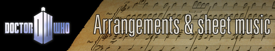 Doctor Who Arrangements & Sheet music